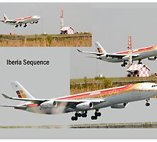 Iberia Landing Sequence by Paul Lindenberg