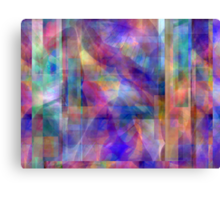 Abstract Composition #1 - April 21, 2010 Canvas Print