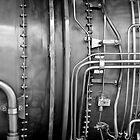 Closeup: Jet Engine by Karem Nunez
