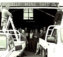 Pingelly Mens Shed, est 2009 by LouJay