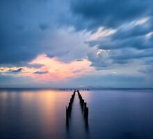 Calm Waters - Corio Bay by Hans Kawitzki