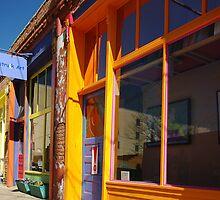 Down on Yankee Street - Silver City, NM by Vicki Pelham