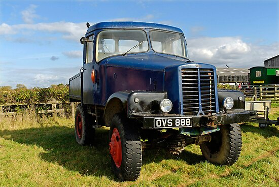 1946 Unipower Forester truck by buttonpresser
