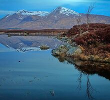 Rannoch blues... by David Mould