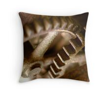 gear up Throw Pillow