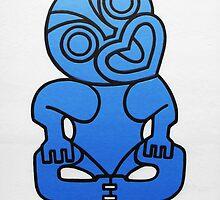 Blue Tiki by Scott Ritchie