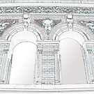 Building Reliefs by Sarah McKoy