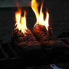 Burning my dancing shoes by ngrant