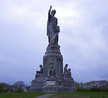 National Monument to our Forefathers.. located in Plymouth, Massachusetts, USA by quiltmaker