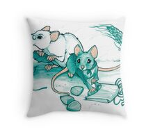 Mice's Harvest Throw Pillow