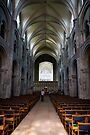 Christchurch Priory inside, Dorset by Evgeniya Sharp