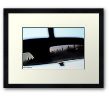 Rear Vision Framed Print