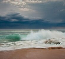 Stormy Surf by Alistair Wilson