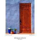 Abiquiu Door (Poster Version) by TheBlindHog