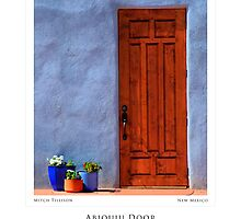 Abiquiu Door (Poster Version) by Mitchell Tillison