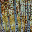 Birches by Catherine Kuzma