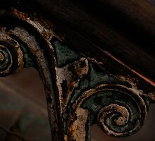 Detail of railing by Jeff Stroud