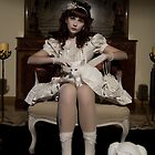 The Porcelain Doll - Porcelain Heart by Ricardo Gonçalves