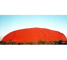 Sunrise at Uluru Photographic Print
