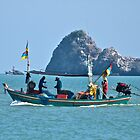 Fishing, Hua Hin, Thailand. by johnrf