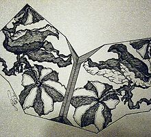 FOSSIL FLOWER by Tammera