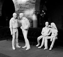 Plaster Sculptures. Stanford University Campus 2009 by Igor Pozdnyakov