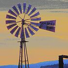 Windmill Sunset by © Betty E Duncan ~ Blue Mountain Blessings Photography