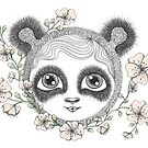 She&#x27;s got panda eyes by Danielle Reck