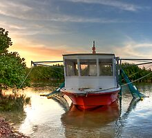 Florida Keys Fishing Boat by njordphoto