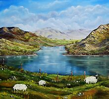 """""""Connemara Spring, Ireland"""" - oil painting by Avril Brand"""