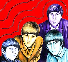 Colourific Beatles 482 views by Margaret Sanderson