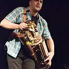 Hurdy-Gurdy player by Paul Woloschuk