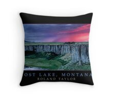 Lost Lake, Montana, ©2010 Roland Taylor Throw Pillow