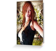 Jessica Alba # 3 Greeting Card
