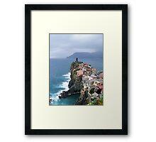 Vernazza in November Framed Print