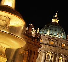 St Peter's at Night by Martin Sutton