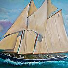 The Bluenose II by Ava McNamee