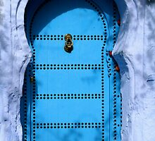 Blue Door by AlainKhouri