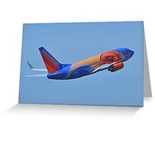 Southwest Airlines NBA Slam Dunk  Greeting Card