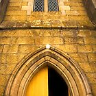 Detail of St John's Church in Richmond, Tasmania by Elana Bailey