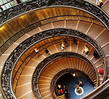 Spiral Stairs by Martin Sutton