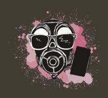 Gas mask by crayzeestuff