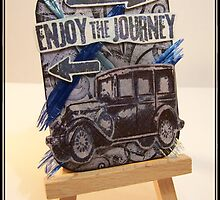 Enjoy the Journey ATC by Lewis Abery