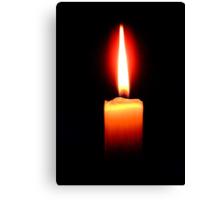 Votive or Prayer Candle Canvas Print