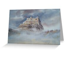 Lindisfarne Castle, Northumberland, England Greeting Card