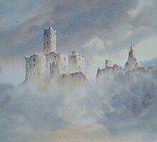 Warkworth Castle, Northumberland, England by JoeHush