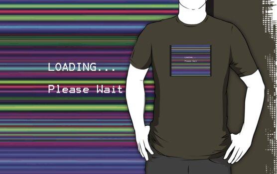 Loading, please wait by TeeArt