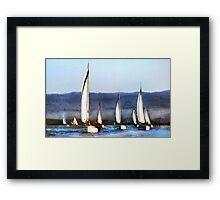 Together We Sail Framed Print
