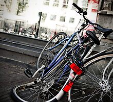 Bikes of Amsterdam by Val Ritter