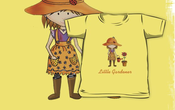 Little Gardener  by Kristy Spring-Brown